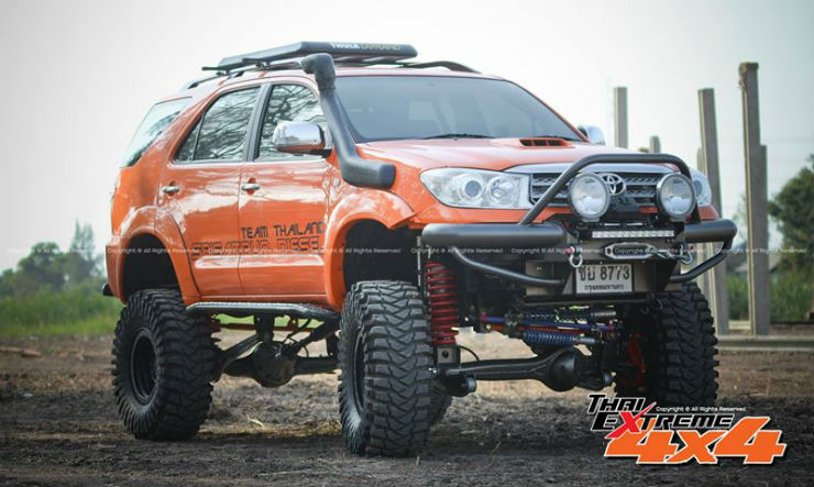 Modified Toyota Fortuners that can conquer anything