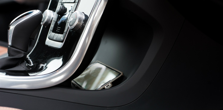 Volvo S60 Cross Country floating console