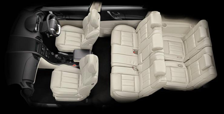 Mahindra XUV500 Seats