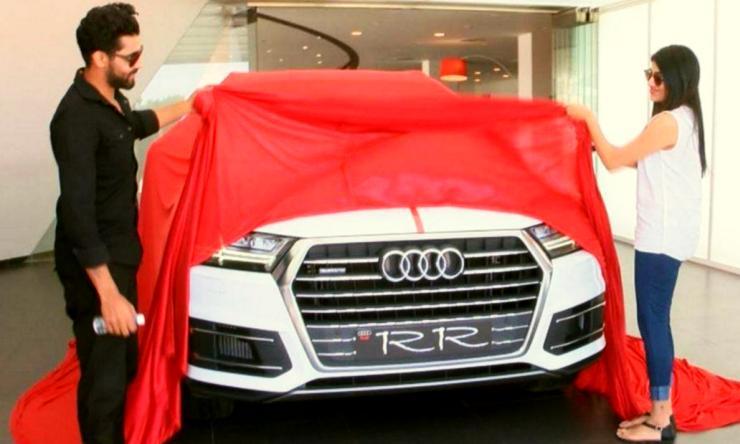 Ravindra Jadeja Audi Q7 2