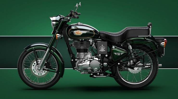 Royal-Enfield-Bullet-500-Available-Colors-Forest-Green-3