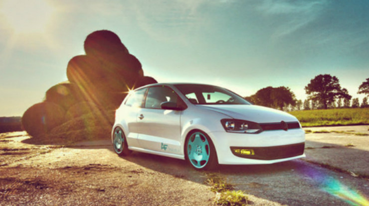 Stanced-VW-Polo-6R