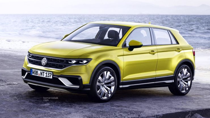 Volkswagen Polo-based T-Cross Compact SUV