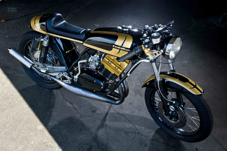 Five heart-achingly beautiful modified Yamaha RD350s