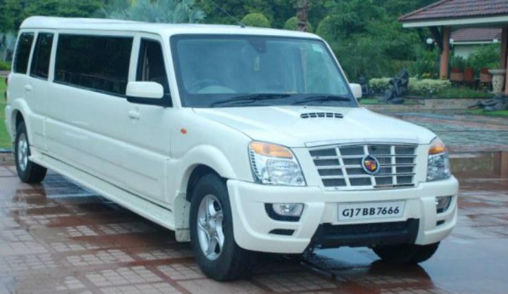 cadillac-escalade-stretched-mahindra-scorpio-limousines-627x419