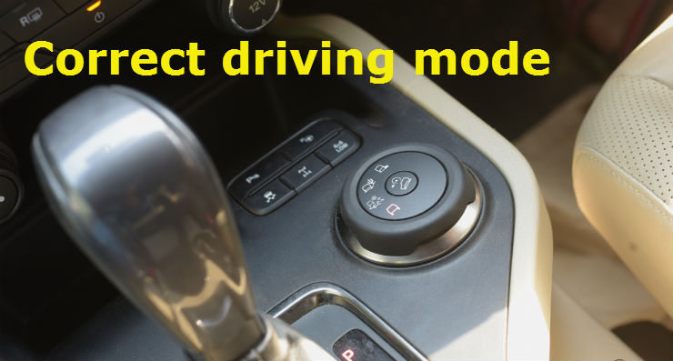 driving mode select