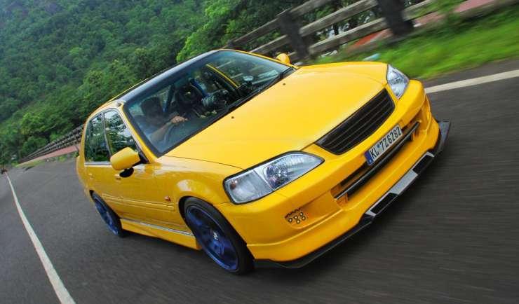Beautifully Modified Honda City Type Zs