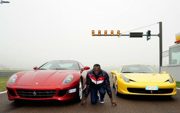race-usain-bolt-runner-black-man-ferrari-458-italia-ferrari-599-gtb-fiorano-traffic-light-169608