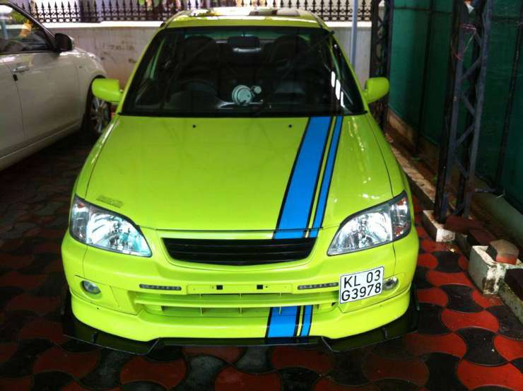 Beautifully Modified Honda City Type Zs