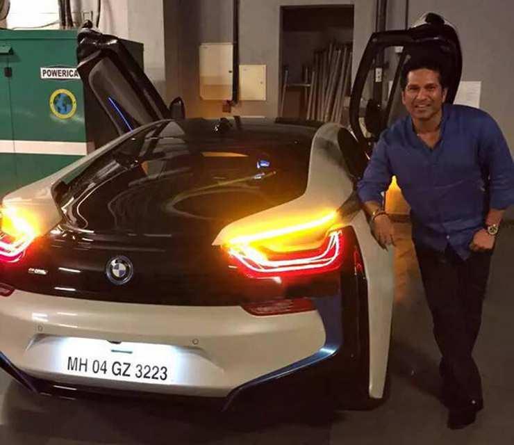 Sachin Tendulkar's Super FAST BMWs