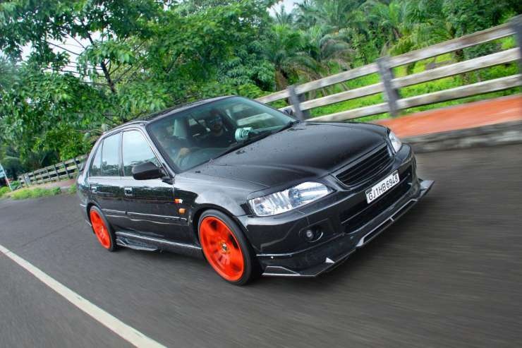 Continued Beautifully Modified Honda City Type Zs