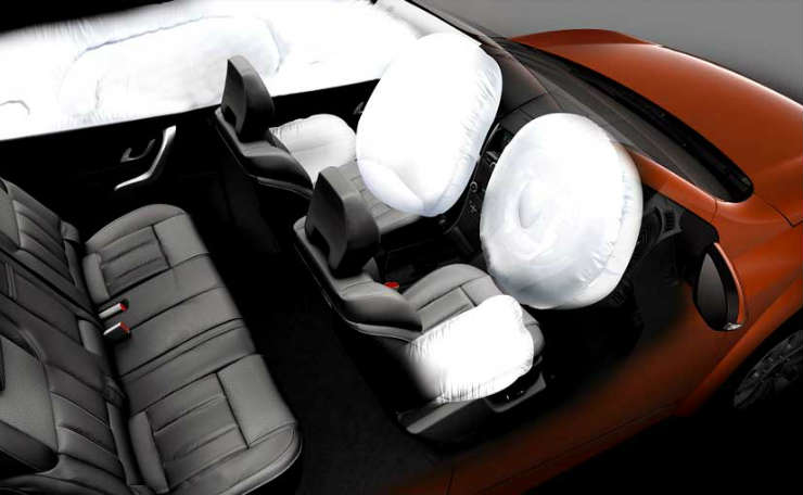 xuv500 6 airbags