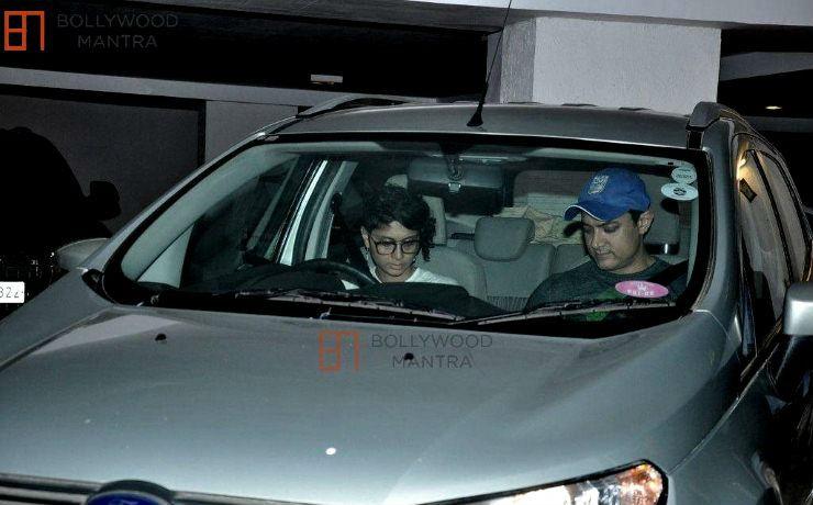 Aamir Khan Kiran Rao Ford EcoSport