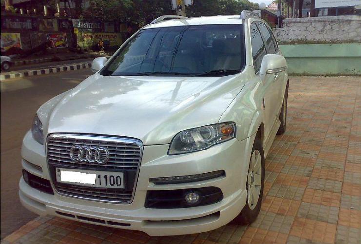 Captiva Audi Q6 front