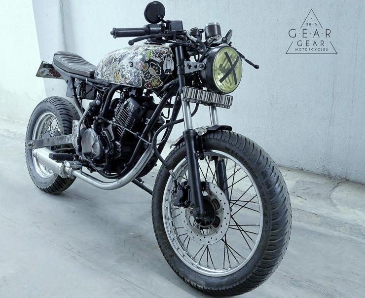 Gear-Gear Bajaj Pulsar Cafe Racer 1