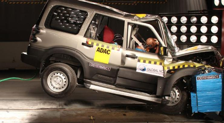 Mahindra Scorpio Global NCAP Test