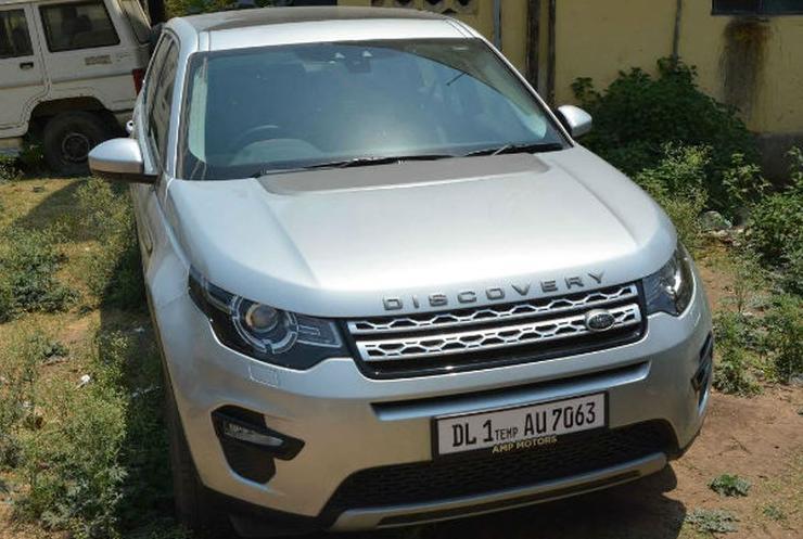 Rocky Yadav's Land Rover Discovery Sport
