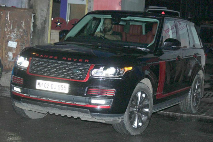 Range Rovers of the rich & famous