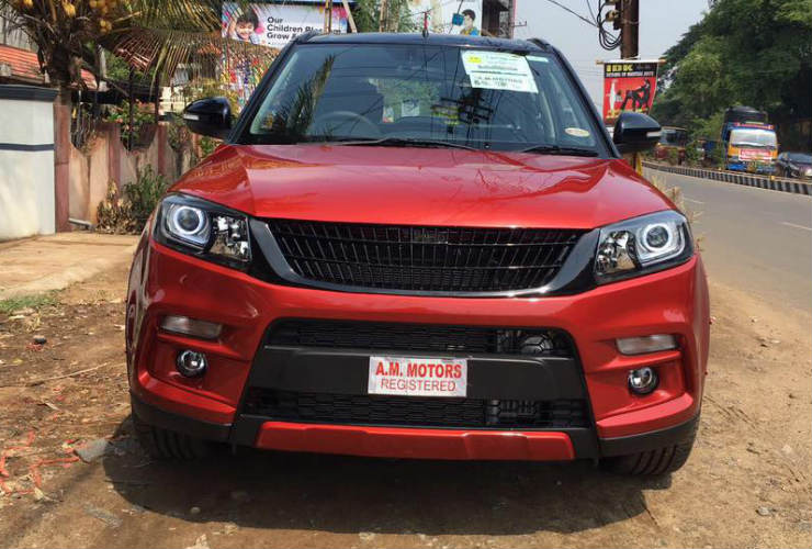 Meet the first modified Maruti Vitara Brezza in India