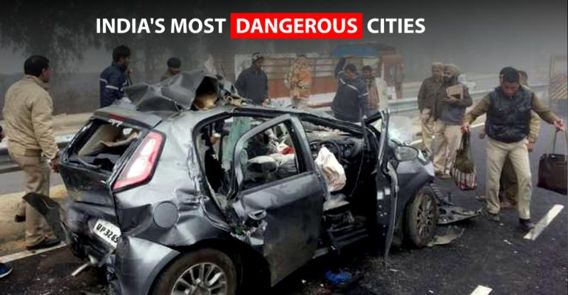 India's most DANGEROUS cities for road users