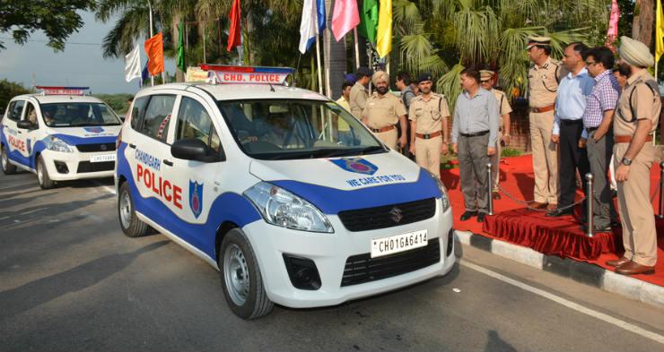 police ertiga