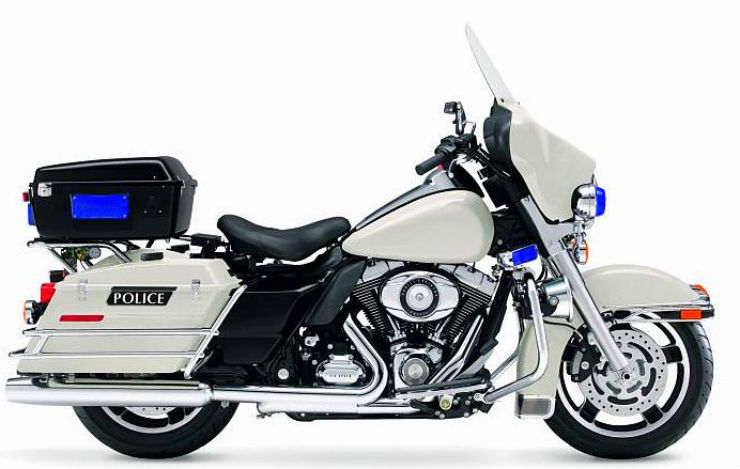 Harley-Davidson-Electra-Glide-police