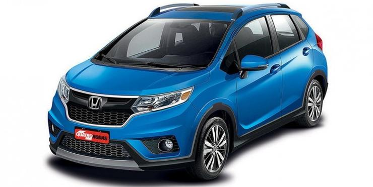 Honda Jazz-based WR-V crossover: This is how it could look like