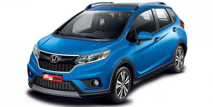 Honda Jazz WR-V Crossover 1