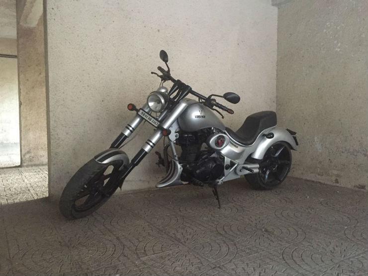 Yet another Vardenchi bike impounded