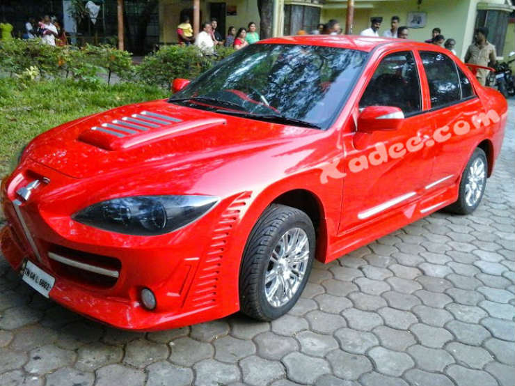 Modified Mitsubishi Lancer