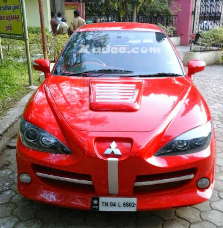 Modified Mitsubishi Lancer3