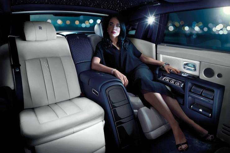 Rolls Royce Cabin