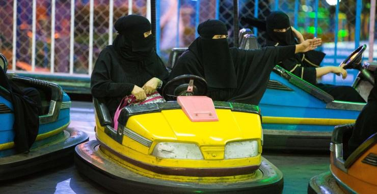 Women banned from driving in Saudi Arabia. But they can still drive these! [Video]