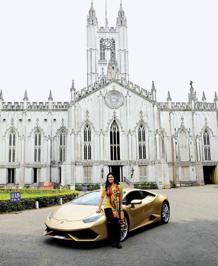 Meet India's first woman Lamborghini Huracan owner