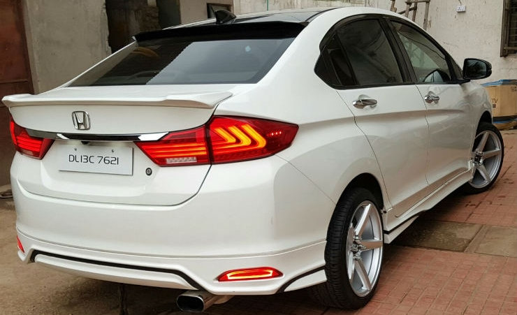 10 MODIFIED Honda City sedans from India