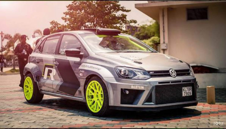 Rally Kitted Vw Polo Is Total Hotness