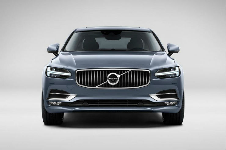 Volvo S90 reaches Indian shores. Launch soon