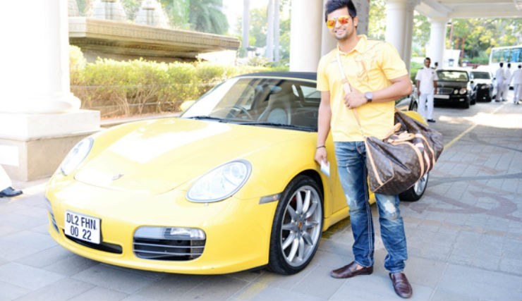 Famous Indians & their Porsches