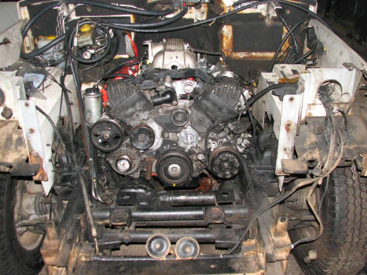 Bolero lexus V8 conversion (3)