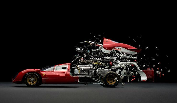 Car Disintegrate