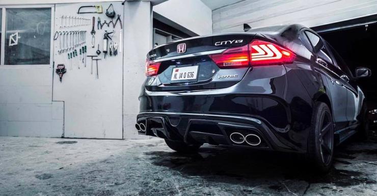 Honda City Custom 5