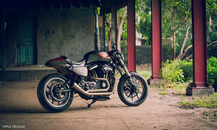 Motomiu Harley Davidson 48 Cafe Racer Custom 1