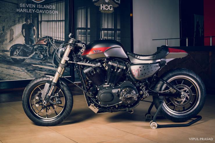 Motomiu Harley Davidson 48 Cafe Racer Custom 2