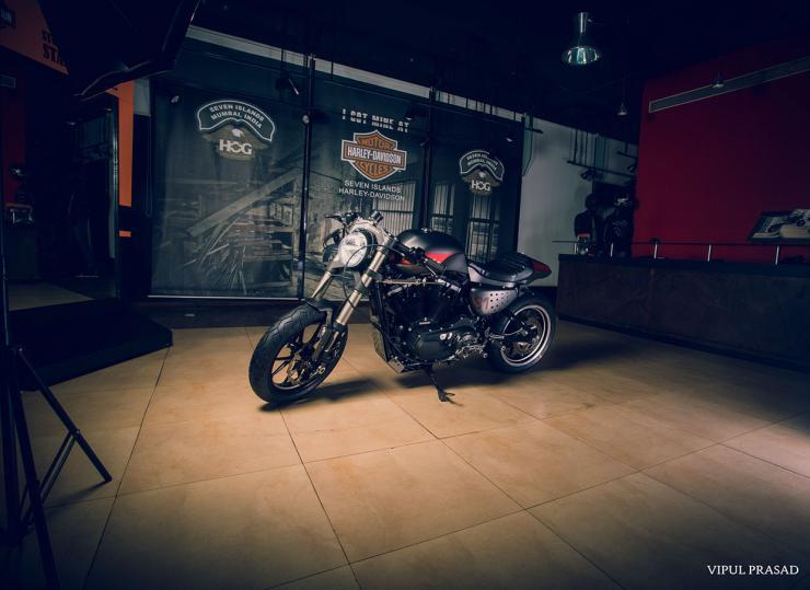 Motomiu Harley Davidson 48 Cafe Racer Custom 7