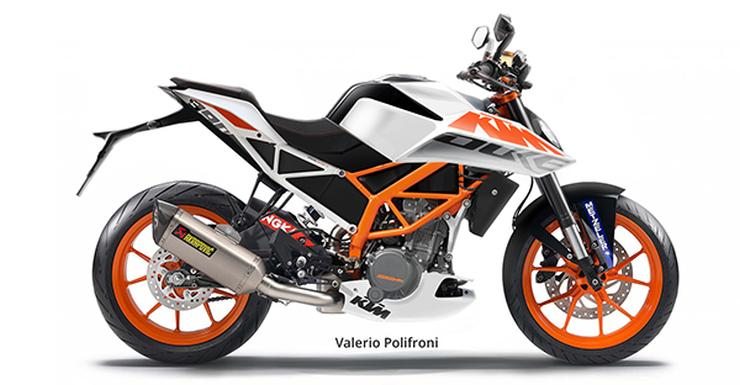 Next-Gen KTM Duke 390 Render