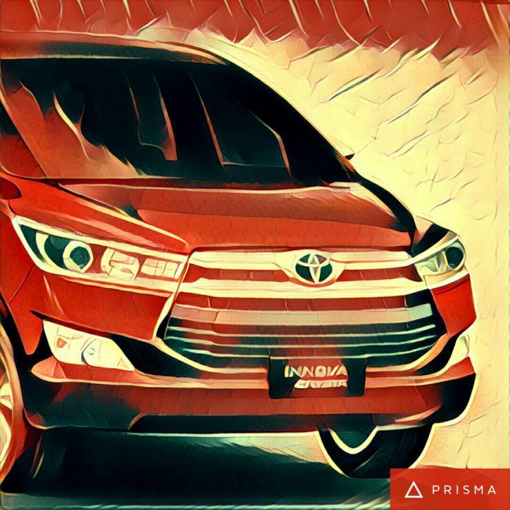 Toyota Innova Crysta Prisma