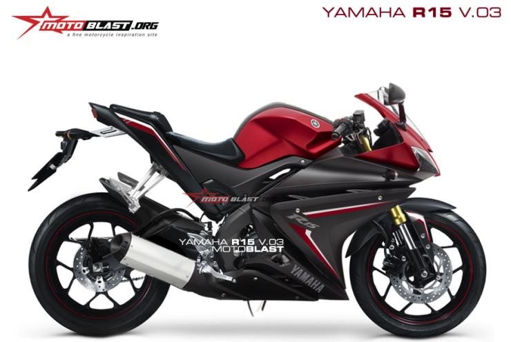 This is how the Next-Gen Yamaha R15 could look like
