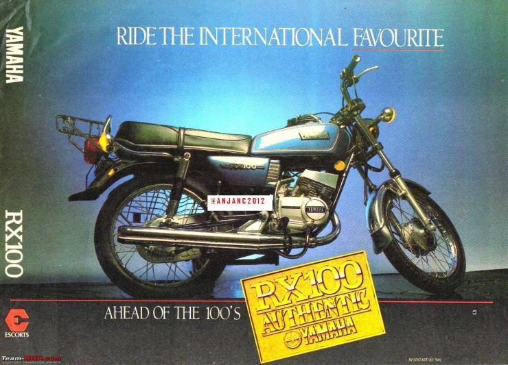 Yamaha RX100 Brochure 1