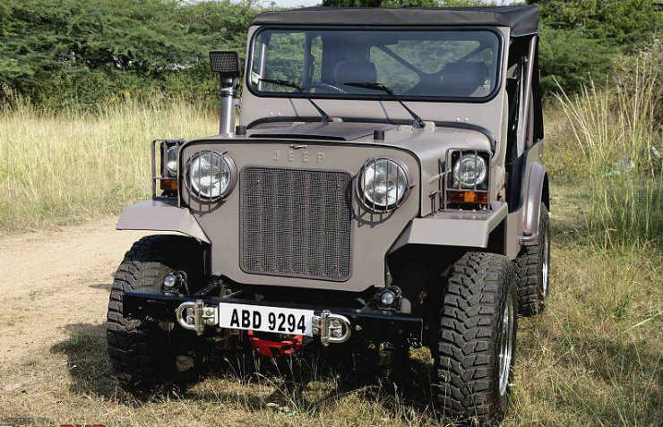 Beautifully Modified Jeeps Of India