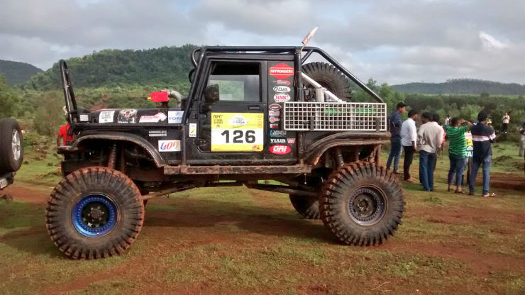 Mahindra Thar V8 Meet India S Maddest Off Roader